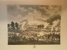 Planche gravure Bataille de MARENGO d'aprés Lejeune graveur Jacques Joseph Coiny