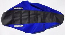 New Yamaha Blue & Black Ribbed Seat Cover YFZ450 QUAD ATV YFZ 450 2004-2009