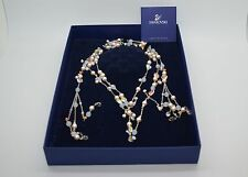 NEW Authentic SWAROVSKI Crystals And Pearls Necklace With Box