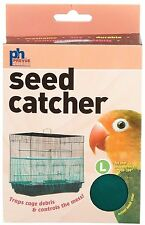 Prevue Pet Products Seed Guard Nylon Mesh Bird Seed Catcher 13 Inch, Assorted