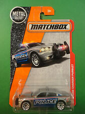 2015 Matchbox Dodge Charger Police Pursuit BX1 Mint on Card