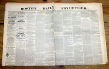 3 1876 newspapers NORTHFIELD Minnesota BANK ROBBED Jesse James Cole Younger Gang