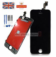 Black LCD Touch Screen Display Digitizer Assembly Replacement For iPhone 5S SE