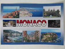 MONACO - JUMBO FRIDGE MAGNET -  Princes Palace, Casino, Jardin Exotique, F1,