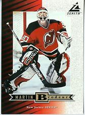 Martin Brodeur 1997-98 Pinnacle Zenith 97 Dare to Tear 5x7 New Jersey Devils #Z5