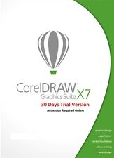 CorelDraw Graphics Suite X7 30 days Trial Software DVD Free & Fast Shipping