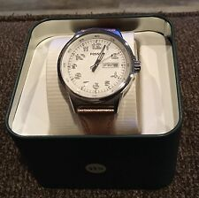 Fossil New Woman's  Stainless Watch with Leather Rose Gold Band  NWT $79.99