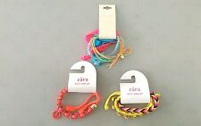 NEW! Lot of 3 Nordstrom CARA Cära Kids Jewelry Multicolor Mixed Bracelet Lot