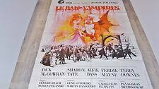 LE BAL DES VAMPIRES the fearless vampire killers ! sharon tate affiche cinema
