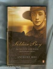 #II.  WWII MILITARY BIOGRAPHY BOOK - THE YOUNGEST ANZAC
