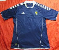SCOTLAND home shirt jersey ADIDAS 2011 Nations Cup Scottish Tartan Army SIZE L
