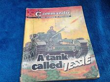 Commando A TANK CALLED TESSIE No 1205 1978 9pC/P War Story Picture Comic Book