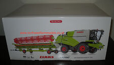 077817 WIKING 1/32 CLAAS 570 TUCANO COMBINE HARVESTER WITH V930 HEADER (MIB)