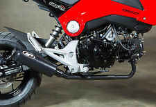 2014 Honda Grom Low Mount M4 GP Style Full Exhaust System