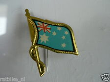 PINS,SPELDJES 50'S/60'S COUNTRY FLAGS 04 AUSTRALIA VINTAGE VERY OLD VLAG