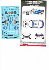 DECALS 1/24 TOYOTA CELICA GT-4 ST185 - #9 HERBA - RALLYE POLOGNE 1996 - DC2436