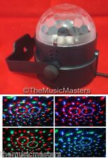Colorful Sound Activated Mini LED Crystal Dome Light Show DJ Disco Party Lamp
