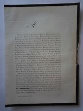 Louis Fabien DE LAPEYRIERE 1861 Famille,BARON PICHON,CARDON,BARONNE CHRISTIN