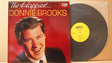 DONNIE BROOKS - THE HAPPIEST... SURF, ROCKABILLY, POP EX COND ULTRA 1032