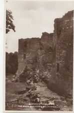 Goodrich Castle Wall Breached By Cromwell RP Postcard  201a