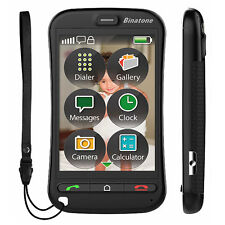 Binatone SM800 Touch Screen Big Button Sim Free Senior OAP Mobile Phone