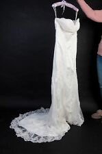 Brand New with Tags Mermaid/Trumpet Sweetheart Wedding Dress with Lace