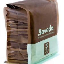 Boveda 75% 2-Way Humidifier Packs for Cigar Humidor - Bulk Bag of 20 - New