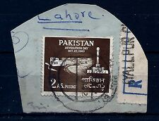 1/2 PRICE SALE, PAKISTAN, SG116a, plus on piece,ERROR, GREEN AND PINK OMITTED