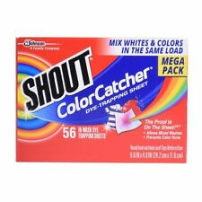 Shout Color Catcher Sheets In Wash Dye Trapping Sheets 56 count  (G14)