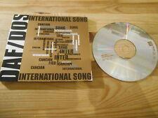 CD Pop DAF DOS - International Song (4 Song) MCD TCM / ROUGH TRADE Delgado NDW
