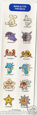 POKEMON Water Type Sandylion Scrapbook Scrapbooking Stickers. J57 FAST SHIPPNG