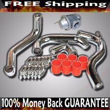 Intercooler Piping +Silicone+Clamp+BOV fit 89-94 Nissan 240SX CA18DET ONLY