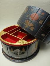 Ancienne boite a ouvrage chine bois laque vers 1900 old chinese box lacquer