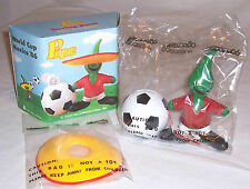 1986 FIFA WORLD CUP OFFICIAL MASCOT PIQUE SAVINGS BANK FROM MEXICO GAMES