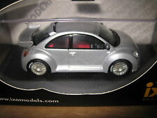 IXO 1:43 VW NEW BEETLE VOLKSWAGON RSI 2000 METALLIC SILVER AWESOME MODEL MOC012