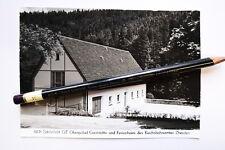 Schönfeld Oberpöbel Gaststätte des Reichsbahnamtes Dresden / DDR AK 87