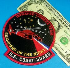 U.S. COAST GUARD PATCH INFRARED CAMERA TEAM, GUARDIANS OF THE NIGHT,Helicopter