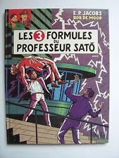 BLAKE ET MORTIMER , T11 Les 3 Formules du Professeur Sato 2 / E.O - 1990 ,TBE