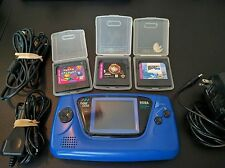 Sega Game Gear Launch Edition Blue Handheld System