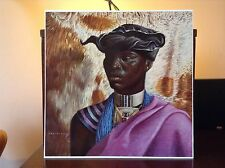 ORIGINAL RARE Tretchikoff Xhosa Chief 1960s - Vintage Kitsch Art Print