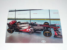 2013 Vodafone Mclaren Mercedes Jenson Button / Sergio Perez 7x5 Launch Photo 6