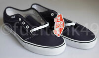 Vans 106 Vulcanized Navy Blue Classic Canvas Shoes