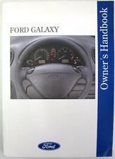 FORD Galaxy - Original Car Owners Handbook - May 1995 - #CG1366/EN/RHD/595