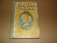 SHIRLEY TEMPLE BOOK FAVORITE POEMS