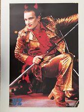 U2,Bono, Rare Authentic 1980's Poster
