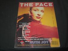 1989 JULY THE FACE MAGAZINE - RUTH JOY COVER - GREAT PHOTOS - F 4027