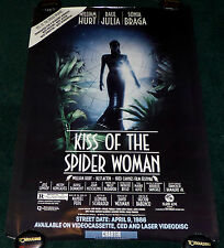 KISS OF THE SPIDER WOMAN 1980's ORIGINAL ROLLED VHS HOME VIDEO MOVIE POSTER
