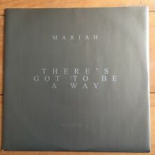 """Mariah Carey - There's Got To Be A Way  12"""" Remix Vinyl"""