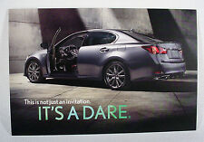 2013 LEXUS GS  POST CARD - ORIGINAL
