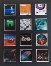 "MUSE DISCOGRAPHY 14"" BY 11"" LP COVERS PICTURE MOUNTED READY TO FRAME"